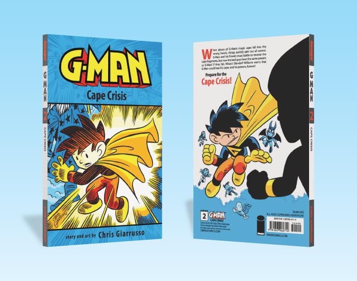Book, G-Man Cape Crisis