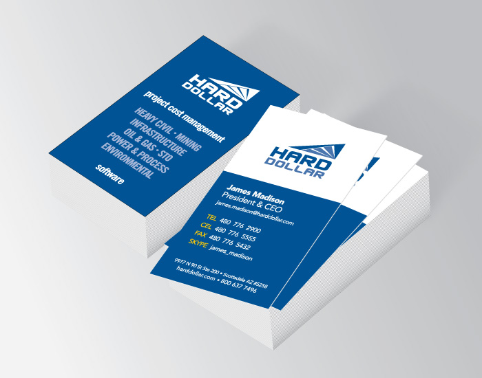 Business cards, H$ Corp