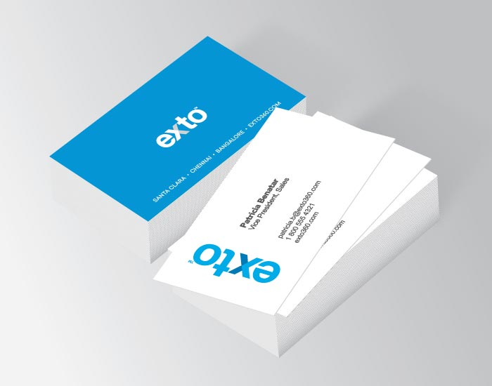 Business cards, Exto
